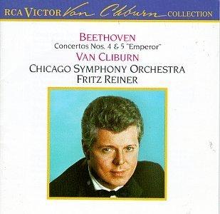 Ludwig Van Beethoven/Concertos Nos. 4 & 5@Cliburn*van (Pno)@Reiner/Chicago So