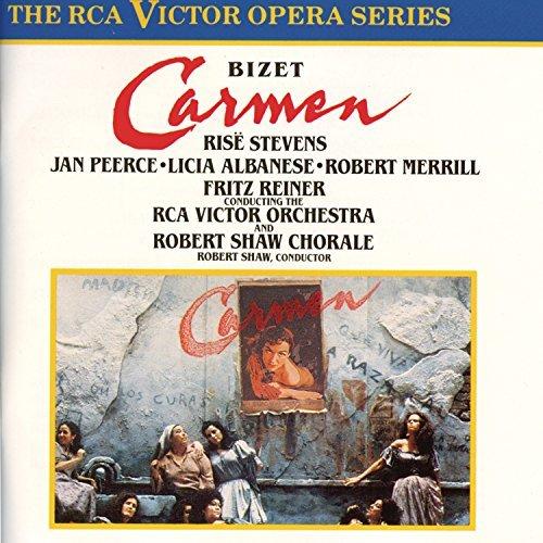 G. Bizet/Bizet-Carmen@Stevens/Peerce/Albanese/Merril@Reiner/Rca Victor Orch