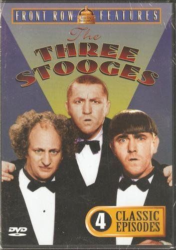 Three Stooges 4 Classic Episodes