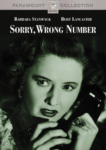 Sorry Wrong Number (1948) Stanwyck Lancaster Richards Co Bw Cc Nr