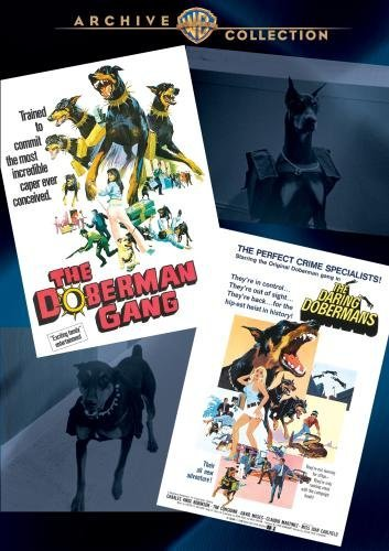 Doberman Gang Those Daring Dob Dobermans Double Feature DVD Mod This Item Is Made On Demand Could Take 2 3 Weeks For Delivery