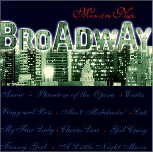 Brian Withycombe Broadway Music Of The Night