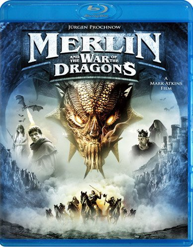 Merlin & The War Of The Dragon Prochnow Roberts Stacey Pg