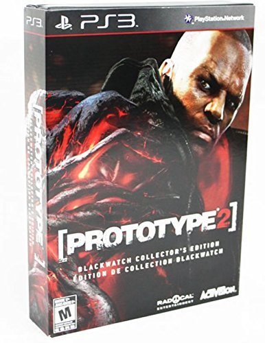 Ps3 Prototype 2 Blackwatch Collector's Edition