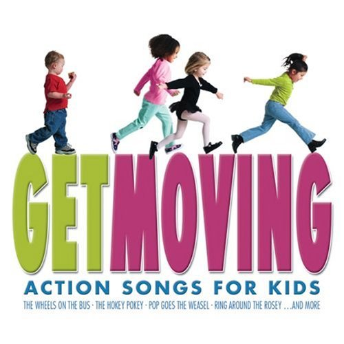 Get Moving Action Songs For Kids
