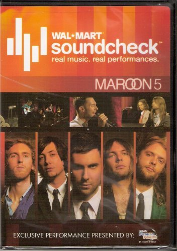 Adam Levine Mroon 5 Robyn Bliley Maroon 5 Walmart Soundcheck (limited Edition Rle
