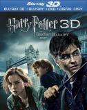 Pt 1 3d Harry Potter & The Deathly Hallows Radcliffe Grint Watson Blu Ray 3d DVD Digital Copy