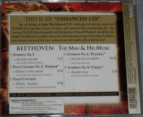 L.V. Beethoven Man & His Music Enhanced CD For Mac Windows