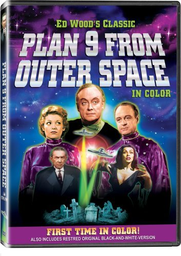 Plan 9 From Outer Space Lugosi Vampira Johnson Manlove DVD