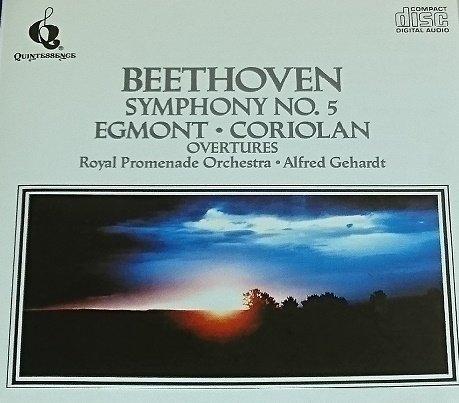 L.V. Beethoven/Sym 5/Egmont & Coriolan Ovt