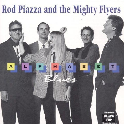Piazza Rod & The Mighty Flyers Alphabet Blues