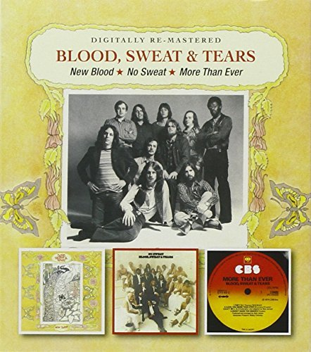 Blood Sweat & Tears New Blood No Sweat More Than E Import Gbr 2 CD