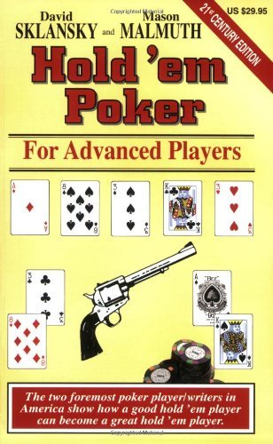 David Sklansky Hold'em Poker For Advanced Players