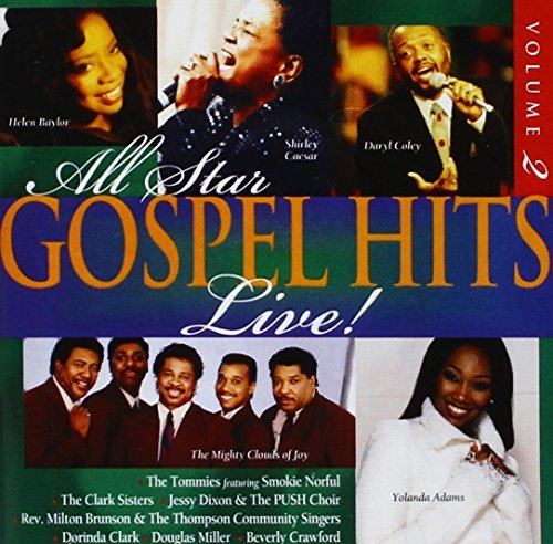 All Star Gospel Hits Live CD R All Star Gospel Hits
