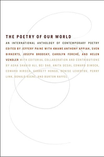 Ed J. Paine The Poetry Of Our World An International Anthology Of Contemporary Poetry