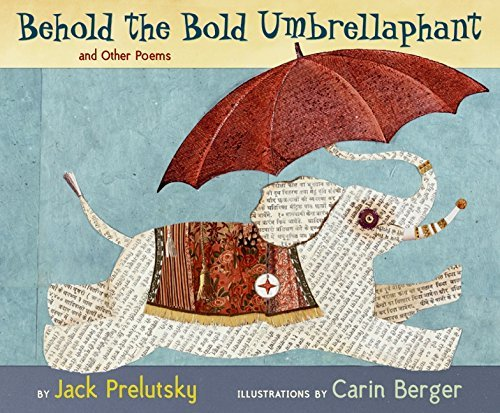 Jack Prelutsky Behold The Bold Umbrellaphant And Other Poems 3. Vollst. A1