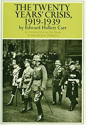 Edward H. Carr Twenty Years' Crisis 1919 1939 0450 Edition;