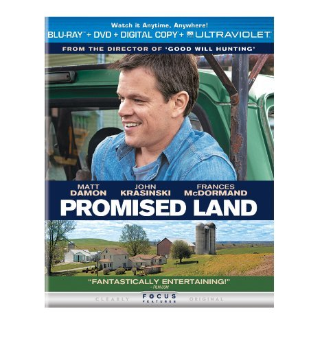 Promised Land Damon Mcdormand Holbrook Dewit R DVD Dc Uv