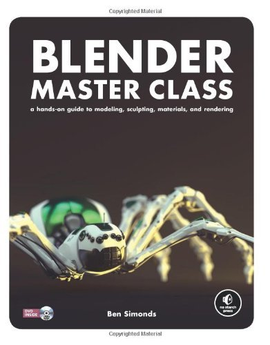 Ben Simonds Blender Master Class A Hands On Guide To Modeling Sculpting Material