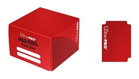 Deck Box Pro Dual Red Large Holds 180 Cards