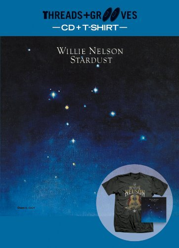 Willie Nelson Threads & Grooves (stardust CD Incl. Large T Shirt