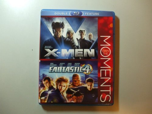 X Men Fantastic 4 Own The Moments Double Feature Blu Ray