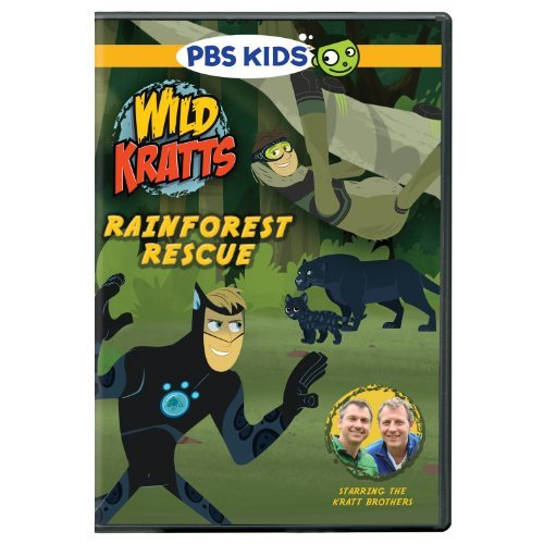 Wild Kratts Rainforest Rescue DVD Nr