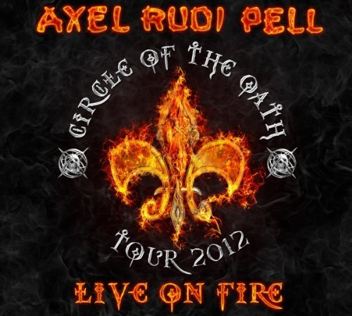 Axel Rudi Pell Live On Fire 3 Lp