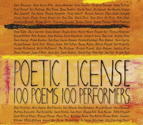 Alexander Lupone Zeta Jones Ni Poetic License 100 Poems 100 3 CD