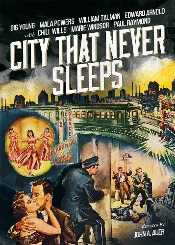 City That Never Sleeps (1953) Young Powers Talman Windsor Bw Nr