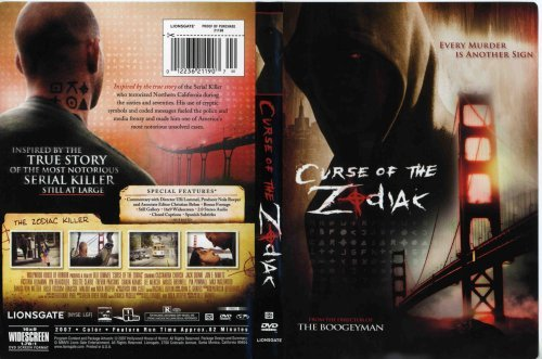 Cassandra Church Jack Quin Jon E. Nimetz Victoria Curse Of The Zodiak [dvd]