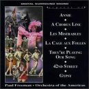 Aspects Of Broadway Annie Chorus Line Miserables & Freeman Orch Of The Americas