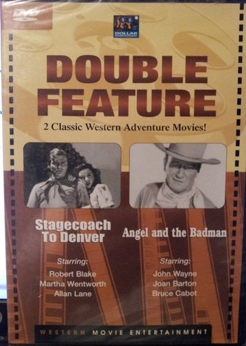 All Star Westerns Stagecoach To Denver Angel & The Badman