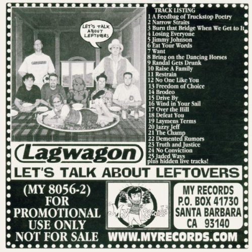 Lagwagon Let's Talk About Leftovers