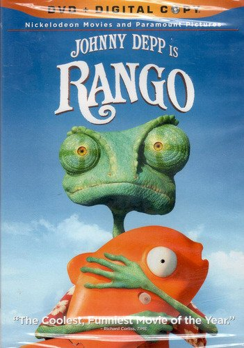 Rango Rango DVD + Digital Copy