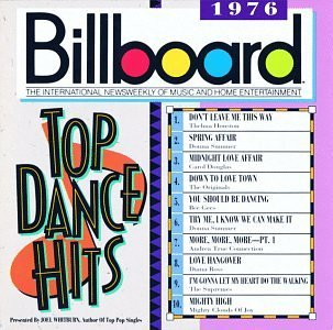 Billboard Top Dance Hits 1976 Billboard Top Dance Hits Summer Bee Gees Ross Houston Billboard Top Dance Hits