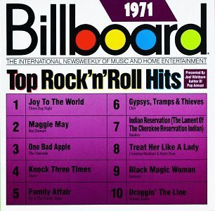 Billboard Top Rock N Roll H 1971 Billboard Top Rock N Roll Cher Raiders Osmonds Stewart Billboard Top Rock N Roll Hits