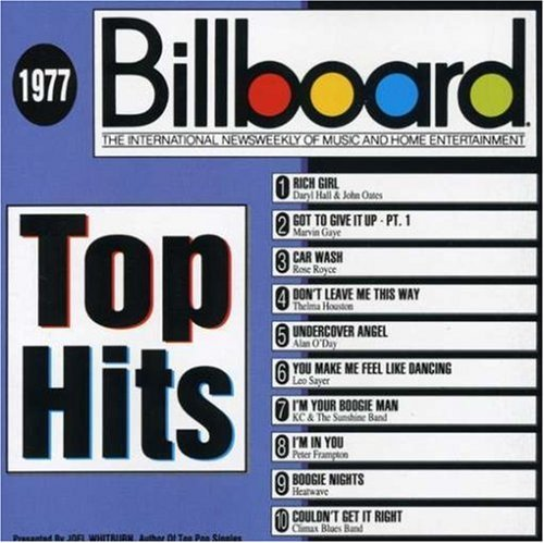Billboard Top Hits 1977 Billboard Top Hits Heatwave Frampton Gaye Sayer Billboard Top Hits