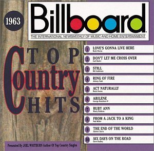 Billboard Top Country 1963 Billboard Top Country Owens Cash Robbins Anderson Billboard Top Country