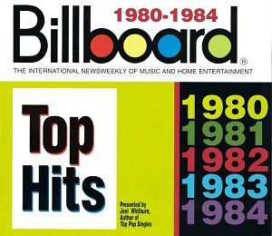 Billboard Top Hits 1980 84 Billboard Top Hits 5 CD Set Billboard Top Hits
