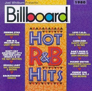 Billboard Hot R & B 1980 Manhattans Graham Isley Bros. Billboard Hot R & B