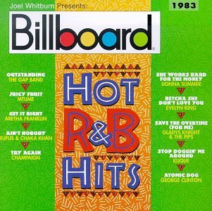Billboard Hot R & B 1983 Gap Band Mtume Franklin Rufus Billboard Hot R & B