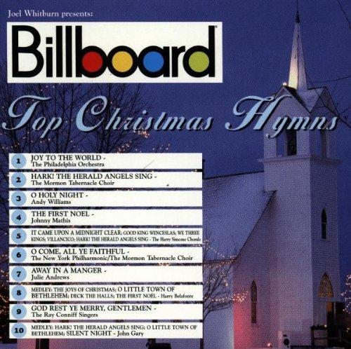 Billboard Top Christmas Hym Billboard Top Christmas Hymns Williams Marsalis Mathis Gary Andrew Belafonte Conniff