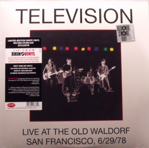 Television Live At The Old Waldorf 180gm White Vinyl