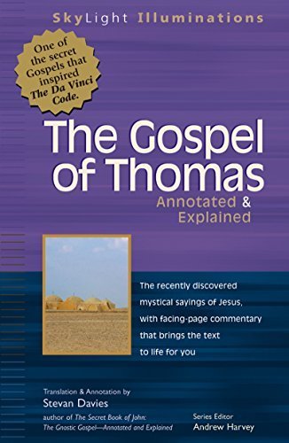 Stevan L. Davies The Gospel Of Thomas Annotated & Explained