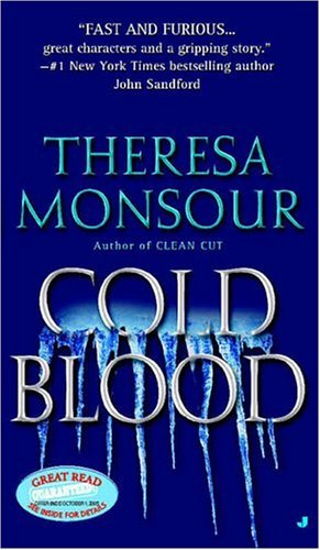Theresa Monsour Cold Blood (paris Murphy Mysteries)