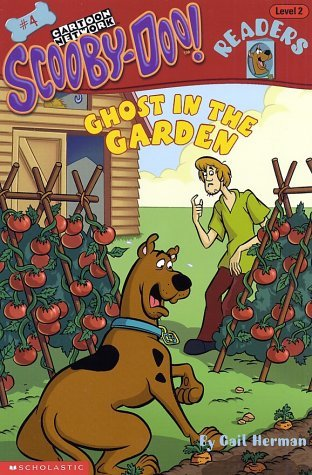 Gail Herman Scooby Doo Reader #04 Ghost In The Garden (level