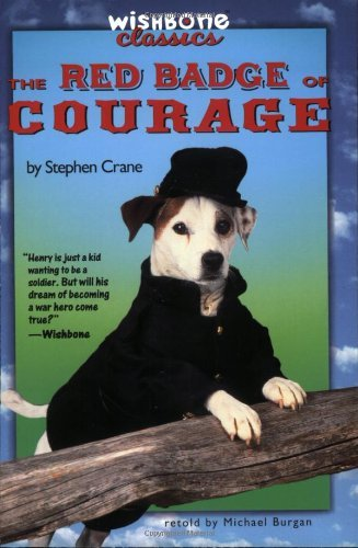 Michael Burgan Wishbone Classic #10 The Red Badge Of Courage