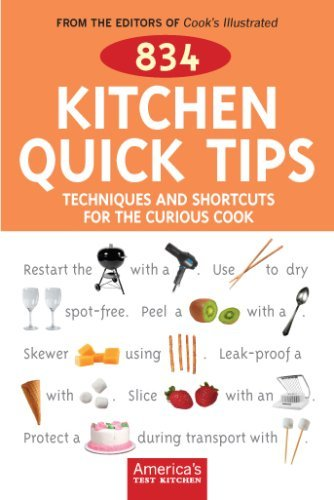 Cook's Illustrated Magazine 834 Kitchen Quick Tips Tricks Techniques And Sh