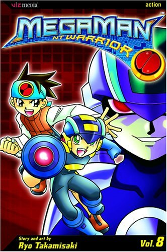 Ryo Takamisaki Megaman Nt Warrior Vol. 8 Uk